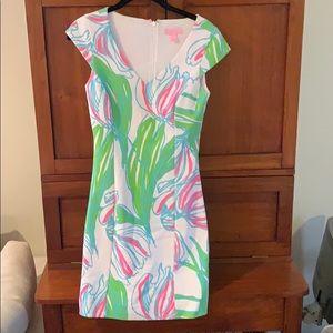 Eileen Fisher Neon Mini Dress